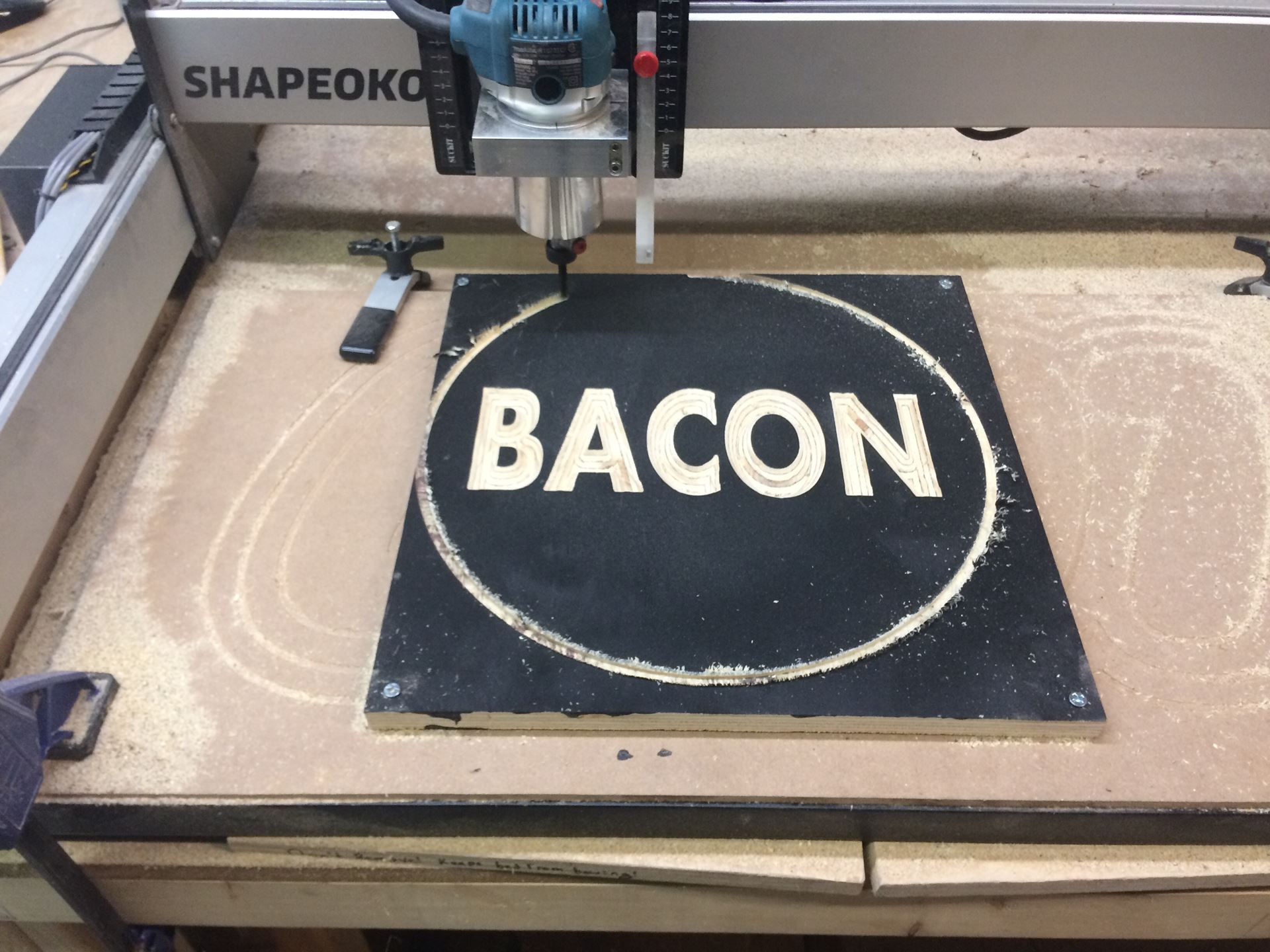 Annapolis Makerspace - Basic Sign Making with VCarve and CNC routing